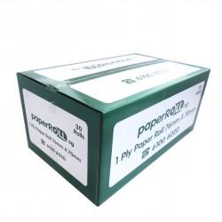 1-Ply Paper Roll 76mm X 70mm X 12mm