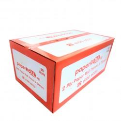 2-Ply Paper Roll 76mm X 70mm X 12mm