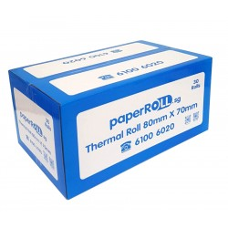 Thermal Paper Roll 80 x 70 (30 Rolls Bundle Package)